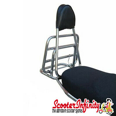 Backrest Vespa GTS/GTS Super/GTV/GT (REQUIRES Cuppini Carrier not included)