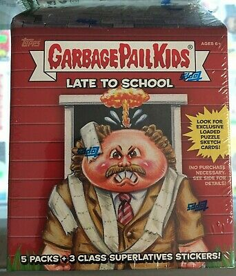 2020 Topps Garbage Pail Kids Late to School Blaster Box - New Factory Sealed