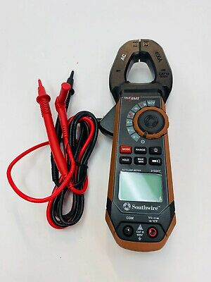 Southwire Analog 21530T 600-volt AC Clamp test Meter New