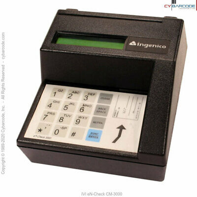 IVI eN-Check CM-3000 Check Reader (CR3000)