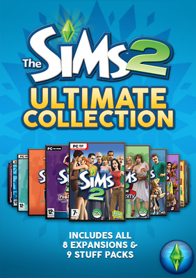 The Sims 2 Ultimate Collection (PC) Includes All Expansions & Stuff Packs - Game