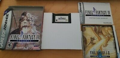 Final Fantasy IV (Nintendo Game Boy Advance, 2005) - GBA Complete