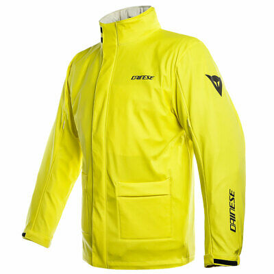 Dainese Storm Moto Motorcycle Bike Over Jacket Fluo Yellow