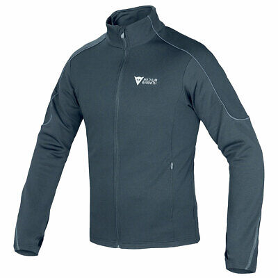 Dainese D-Mantle Motorcycle Bike Fleece Jacket Black / Black / Anthracite