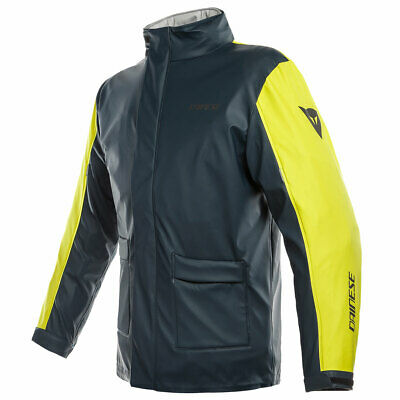 Dainese Storm Moto Motorcycle Bike Over Jacket Antrax / Fluo Yellow