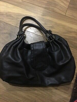 Job Lot Of Ladies Dark Brown Handbag