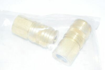 Lot of 2 NEW Atlas Copco Quick Connect Replacement - 1617708202 Coupling