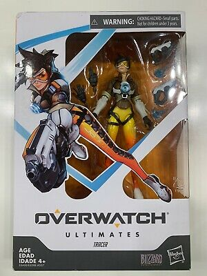 Overwatch Ultimates Series Tracer 6-Inch Collectible Action Figure Blizzard