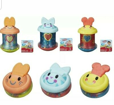 BABY TOY Playskool Wobble n Go Friends Bunny, Kitty or Bug. X 1 Spin & rattles