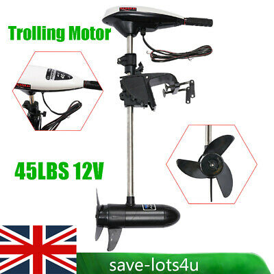 Boat Dingy Canoe Compact Kayak Electric Outboard Trolling Motor HASWING W20