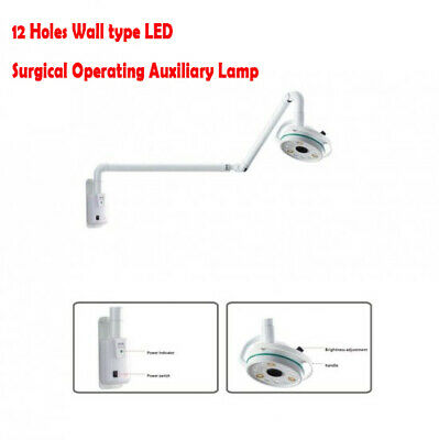 12 Holes Wall type LED Surgical Operating Auxiliary Lamp CE