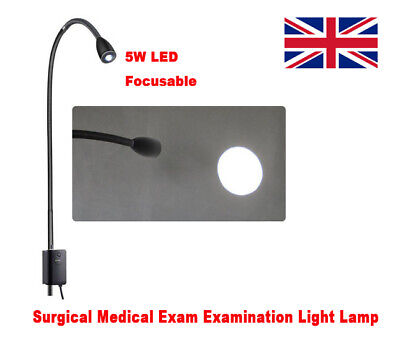 Focusable LED Surgical Medical Exam Examination Light Lamp Stand High Brightness