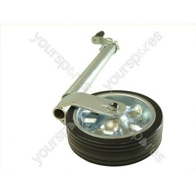 Maypole Jockey Wheel - Heavy Duty - No Clamp - 42mm