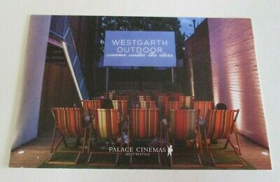 Westgarth Outdoor Cinema - Promotional Postcard - Palace - Northcote, Melbourne