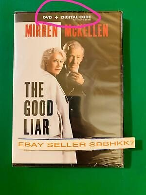 The Good Liar DVD + DIGITAL CODE {{{AUTHENTIC READ LISTING }}} New Free Shipping
