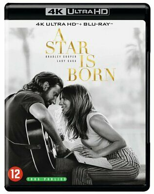 4K Ultra Hd + Blu-Ray - A Star Is Born  (2018)  Lady Gaga  (New / Sealed)