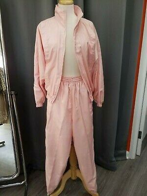 1990s Pink Shell Suit Pink Size 12