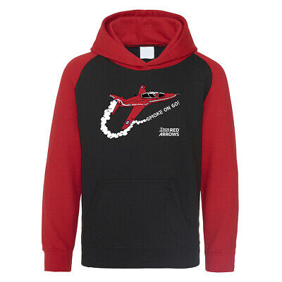 Official Red Arrows 'Smoke On Go' Kids Hoodie