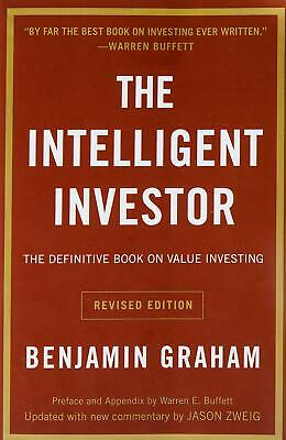 Intelligent Investor The Definitive Book o by Benjamin Graham New Paperback Book