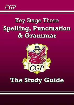 Spelling, Punctuation and Grammar for KS3 - the Study  by CGP New Paperback Book