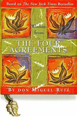 Wisdom from The Four Agreements Mini Books by Don Miguel Ruiz New Hardcover Book