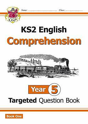 KS2 English Targeted Question Book Year 5 Comprehensio by CGP New Paperback Book