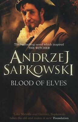 Blood of Elves Witcher 1 - Now a major N by Andrzej Sapkowski New Paperback Book