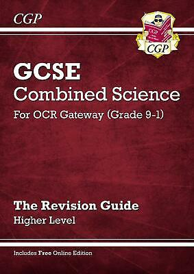Grade 9-1 GCSE Combined Science OCR Gateway Revision G by CGP New Paperback Book