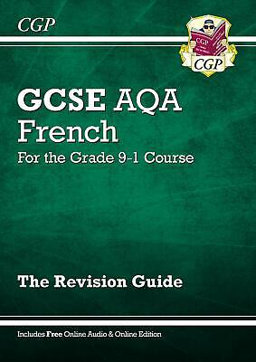 GCSE French AQA Revision Guide - for the Grade 9-1 Cou by CGP New Paperback Book