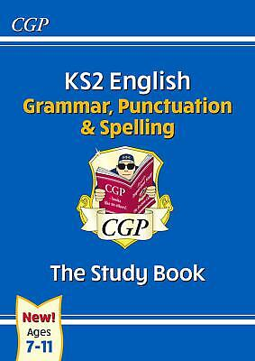 KS2 English Grammar, Punctuation and Spelling Study Bo by CGP New Paperback Book