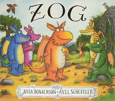Zog by Julia Donaldson New Paperback Book