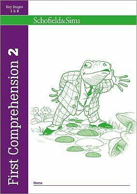 First Comprehension Book 2 Year 3, Ages 7 by Schofield & Sims New Paperback Book