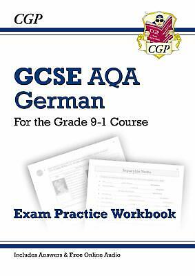 GCSE German AQA Exam Practice Workbook - for the Grade by CGP New Paperback Book