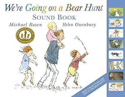 We're Going on a Bear Hunt by Michael Rosen New Hardcover Book