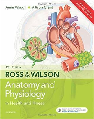Ross & Wilson Anatomy and Physiology  by Anne Waugh Bsc(Hons) New Paperback Book