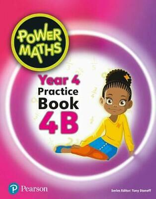 Power Maths Year 4 Pupil Practice Book 4B Power Maths Pri by  New Paperback Book