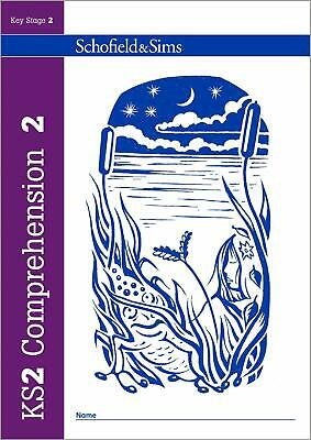 KS2 Comprehension Book 2 Year 4, Ages 8-9 by Schofield & Sims New Paperback Book