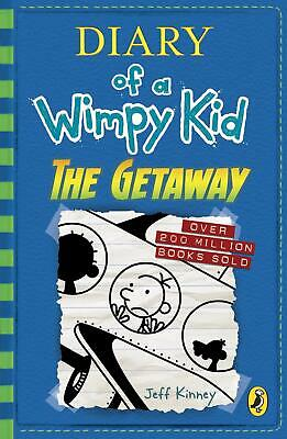 Diary of a Wimpy Kid The Getaway Book 12 by Jeff Kinney New Paperback Book