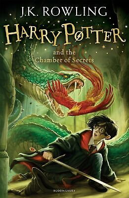 Harry Potter and the Chamber of Secrets 2/7 H by J.K. Rowling New Paperback Book