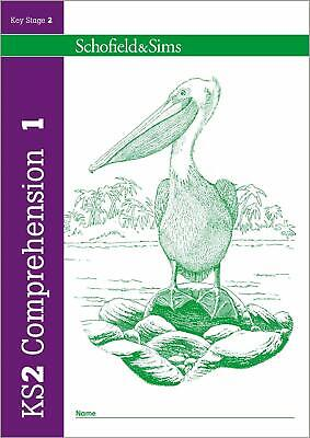 KS2 Comprehension Book 1 Year 3, Ages 7-8 by Schofield & Sims New Paperback Book