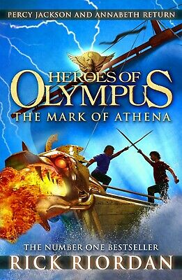 The Mark of Athena Heroes of Olympus Book 3 by Rick Riordan New Paperback Book