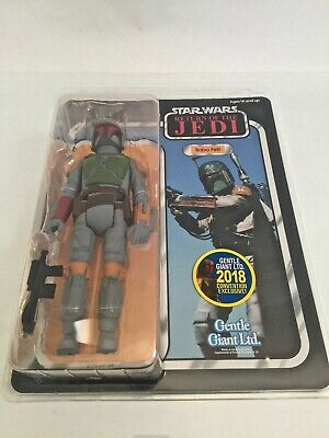 Star Wars Gentle Giant Jumbo 1/6 BOBA FETT ROTJ SDCC Exclusive Sideshow Hot Toys