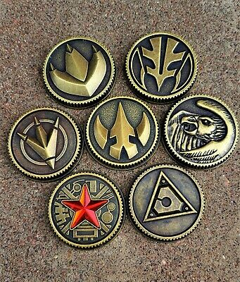 Blazing Phoenix Legacy Coin Weathered Made for Bandai Legacy Morpher
