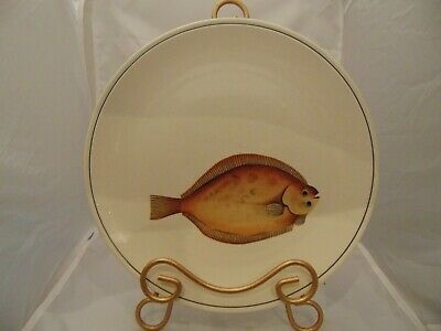 Beautiful highly collectable Villeroy /& Boch Atlantic fish dinner plates.