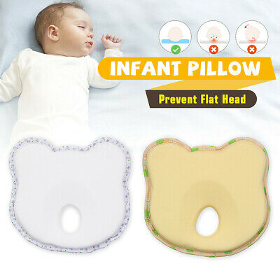 Memory Foam Baby Cot Soft Pillow Prevent Flat Head Cushion Sleeping