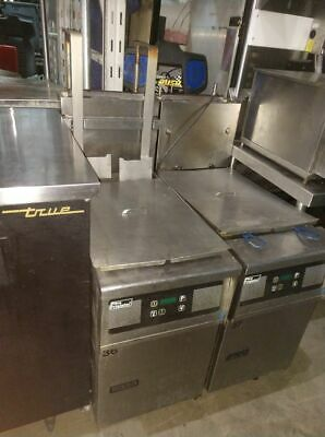 Pitco sg14-js deep fryer with auto lift