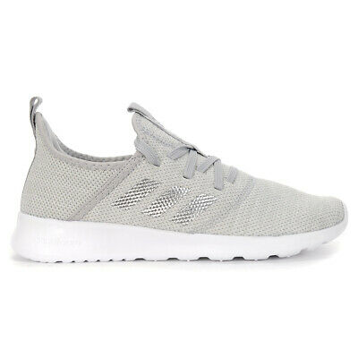 Adidas Women's Cloudfoam Pure Grey Two/Matte Silver Shoes EE8078 NEW