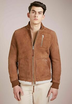 New Tiger of Sweden Layton  Jacket in Shearling leather 48 EU  (Medium)  $2399