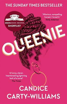 Queenie: Shortlisted for the Costa  by Candice Carty-Williams New Paperback Book