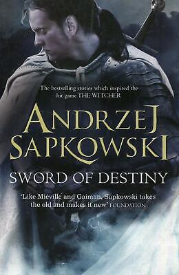 Sword of Destiny: Tales of the Witcher - by Andrzej Sapkowski New Paperback Book